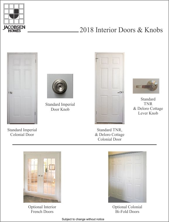 Interior Door Options In Manufactured Homes