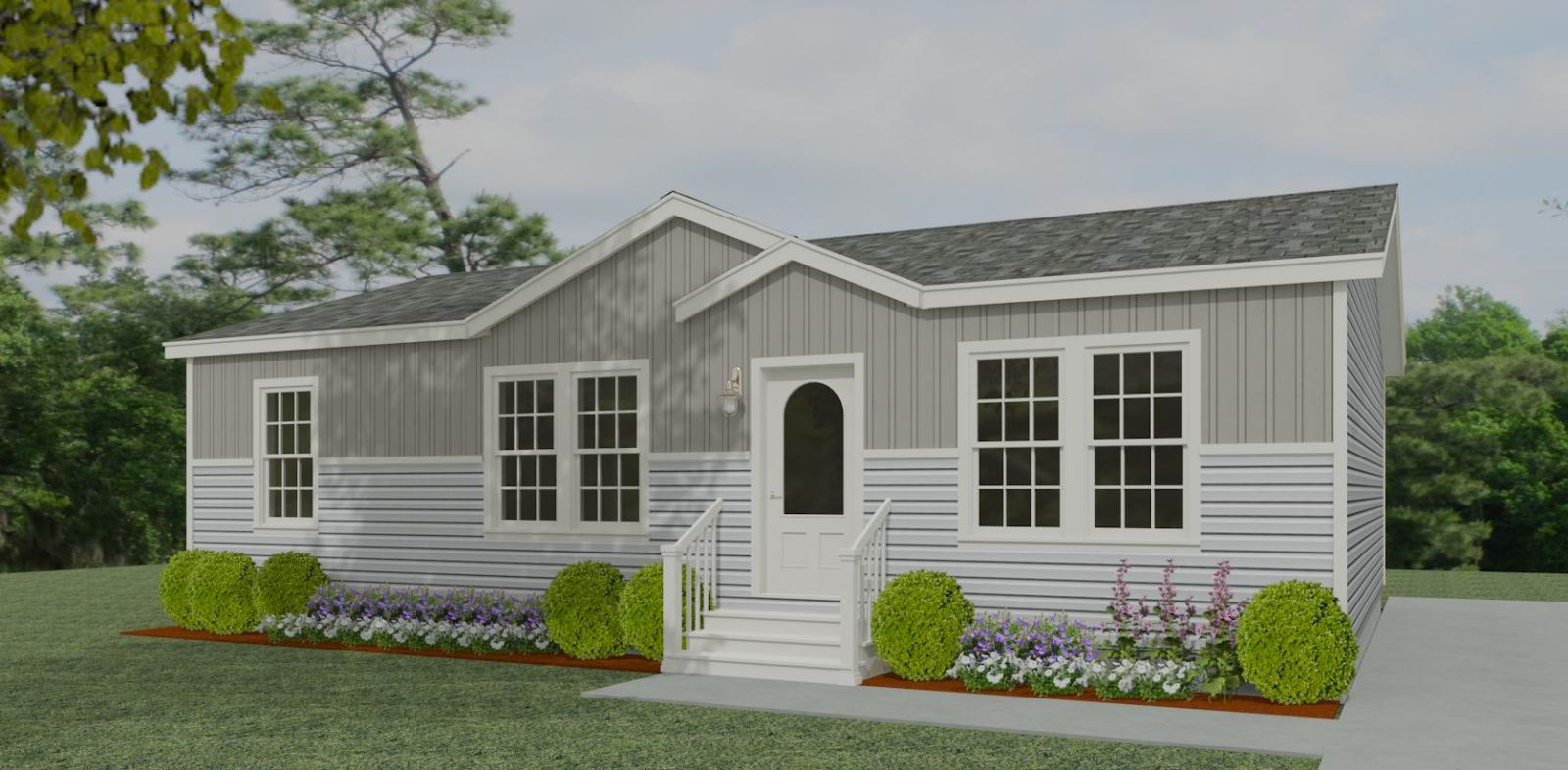 Exterior rendering Jacobsen Homes floor plan TNR-44811A