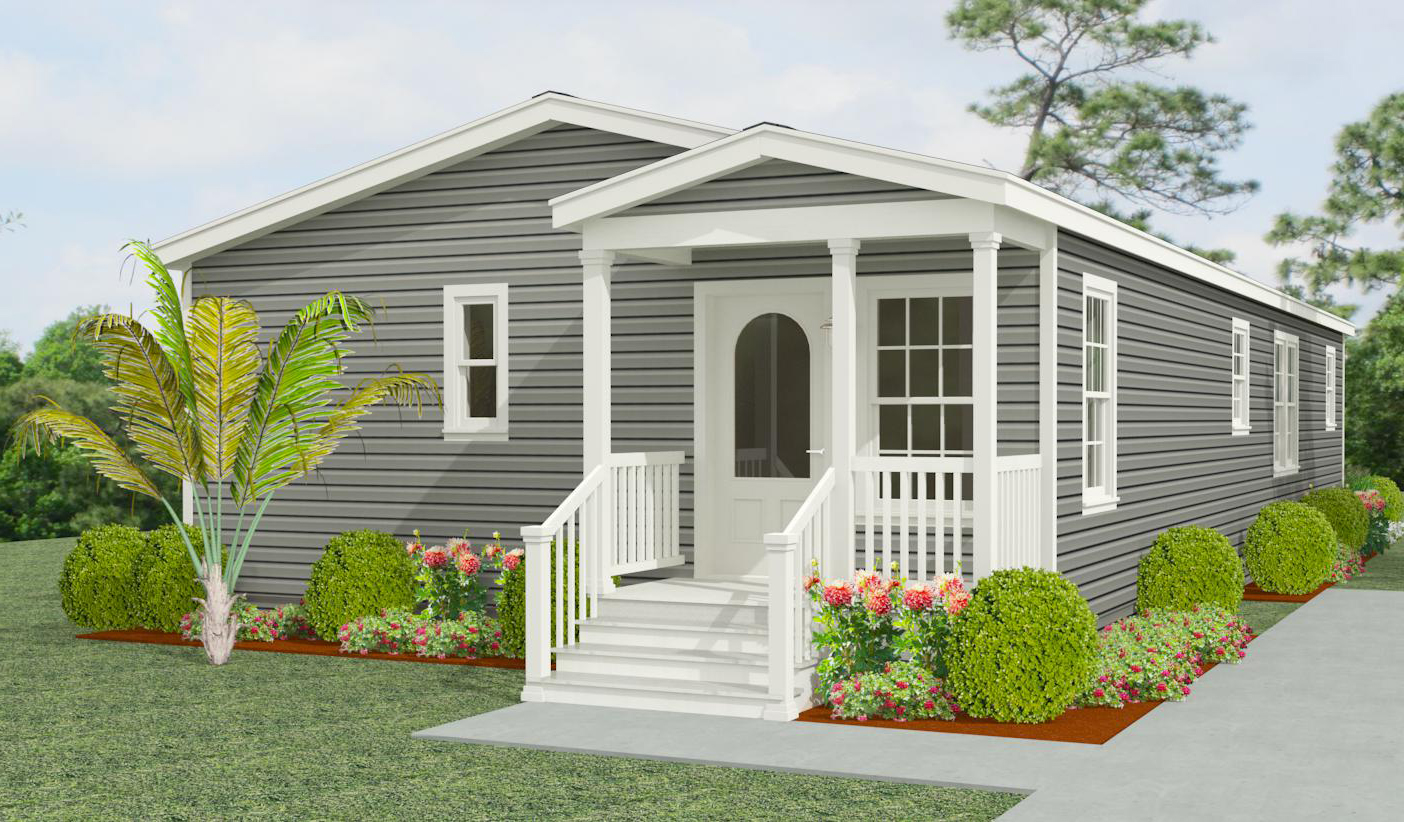 Exterior rendering Jacobsen Homes floor plan IMP-45212A