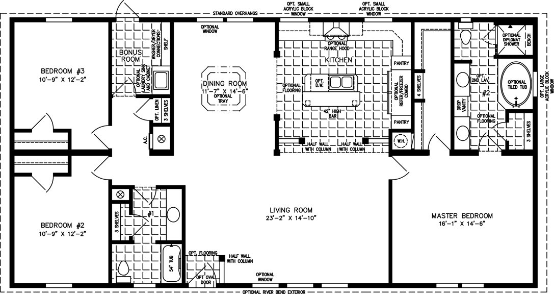 1800 square foot house plan - house design plans
