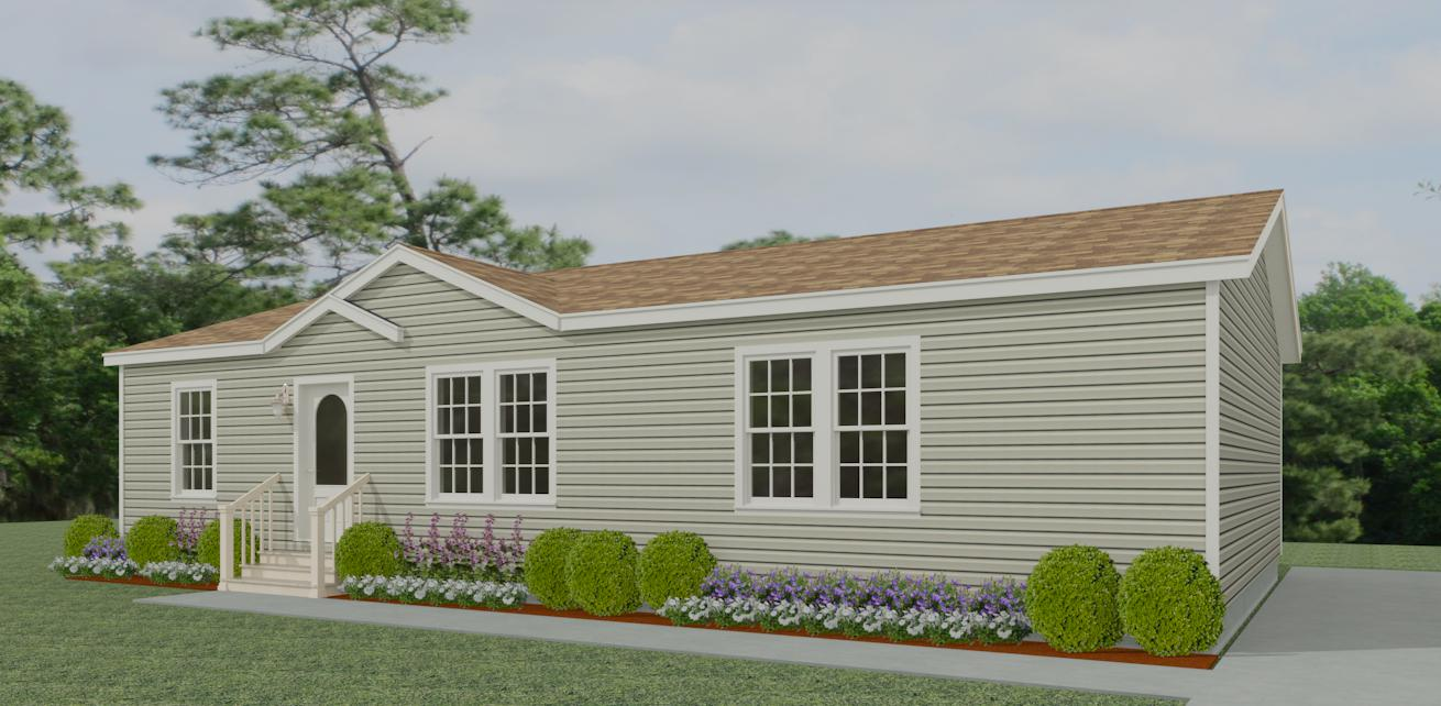 Exterior rendering Jacobsen Homes Floor Plan IMLT-44815B