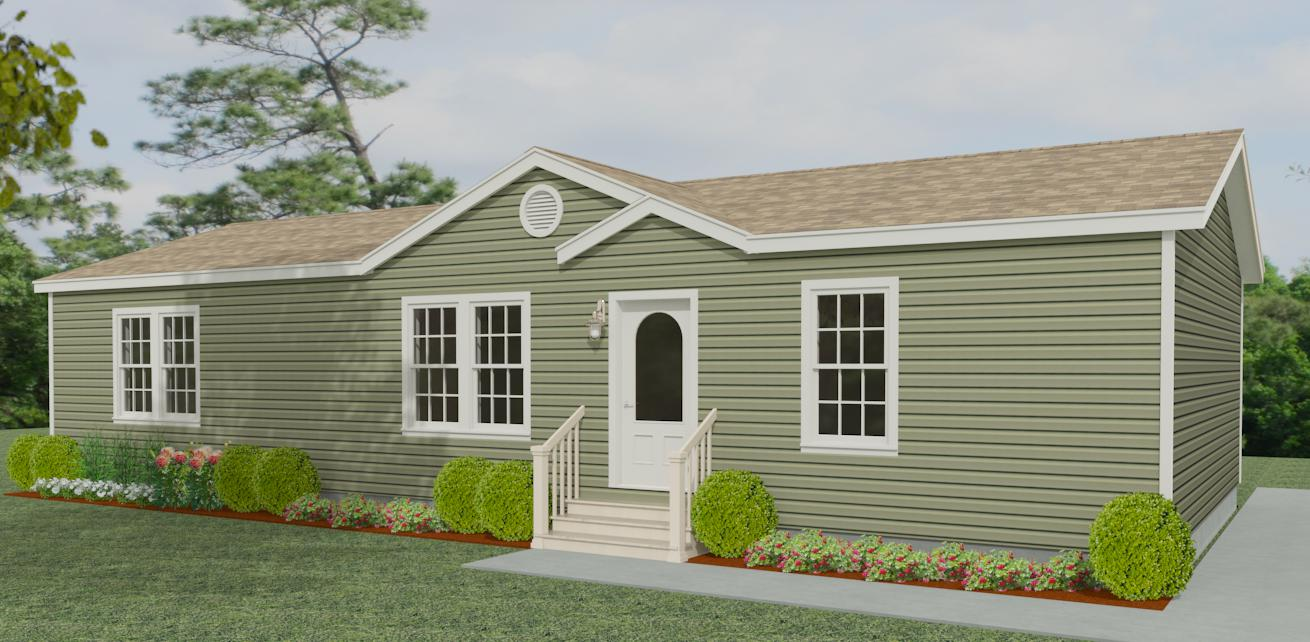 Exterior rendering Jacobsen Homes Floor Plan IMP-45616B
