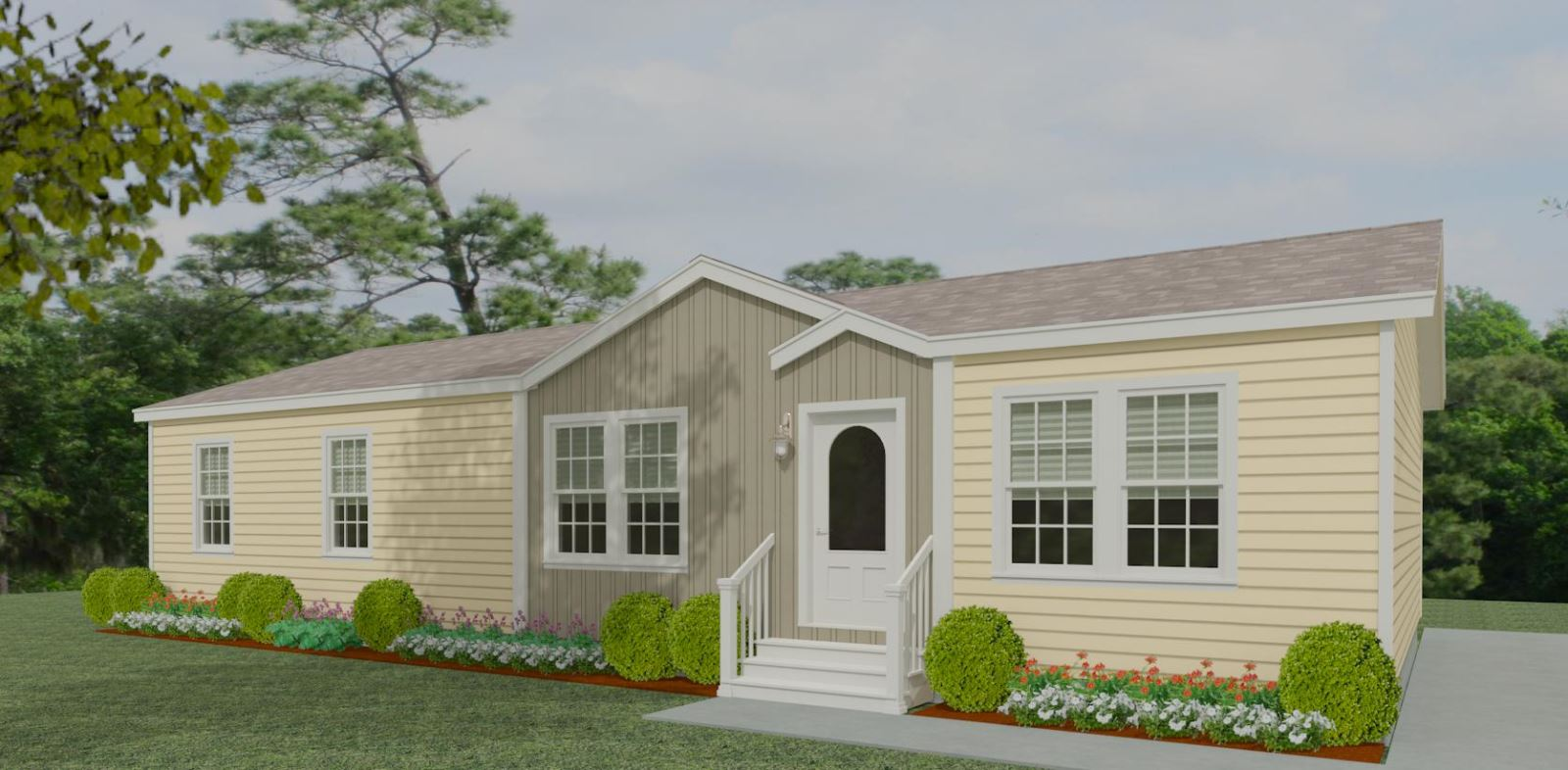Exterior rendering Jacobsen Homes Floor Plan IMP-45618B