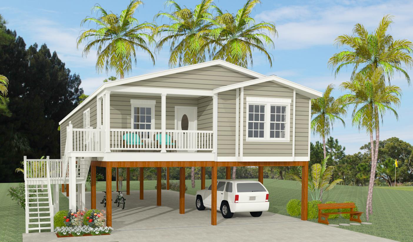 1000 to 1199 sq ft manufactured home floor plans for Modular homes on pilings