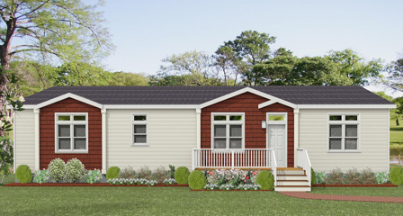 Exterior rendering Jacobsen Homes with two Dormers