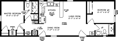 38 Feet Wide House Plans together with Floorplan in addition Beauty Salon Design Plans View Source More Sq F likewise One Bedroom Mobile Homes together with House Framing Or Rough Carpentr. on manufactured floor plans
