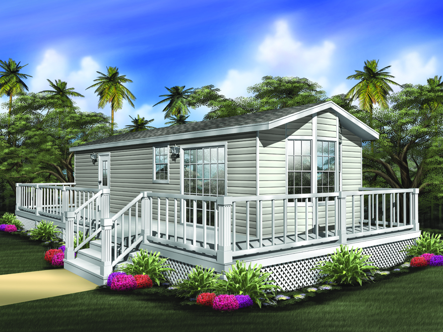 Small mobile homes small home floor plans for Modular home cottage