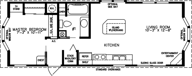 Small Mobile Homes Small Home Floor Plans