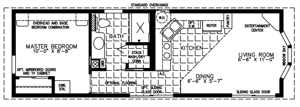 Small mobile homes small home floor plans for Tiny mobile home floor plans