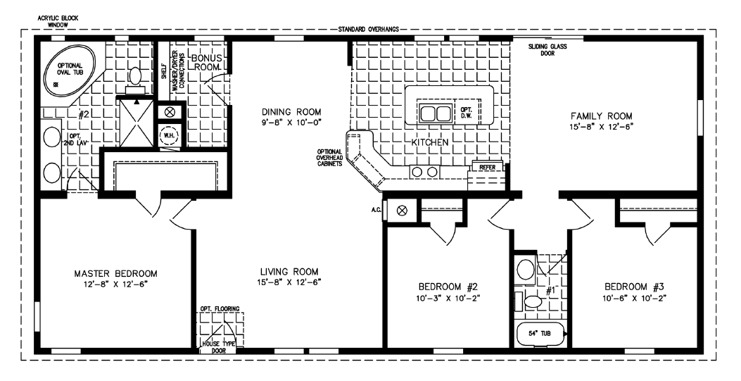 Floor Plans for Custom Homes of Haines City Manufactured Homes for Jacobsen  Homes in Haines City. Floor Plans for Custom Homes of Haines City Manufactured Homes for
