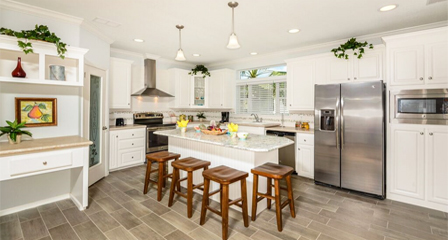 Large Jacobsen Homes Kitchen