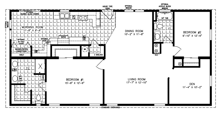 Floor Plans For The Grove Manufactured Homes For Jacobsen