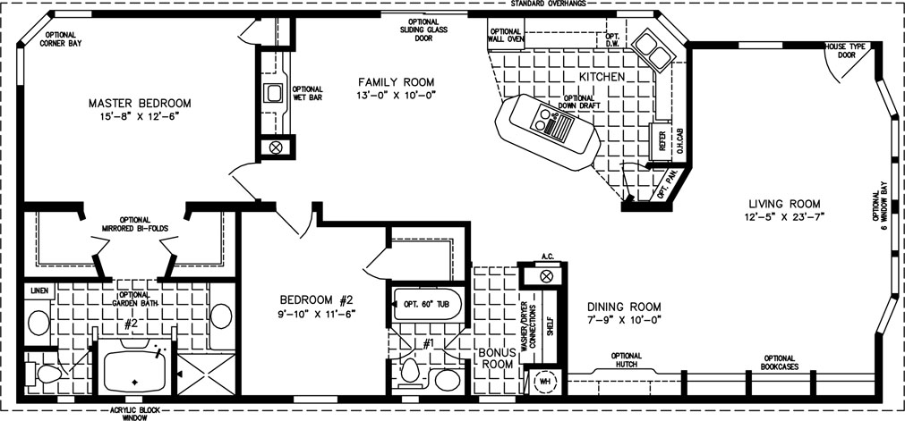 Nice 1200 sq ft house floor plans 8 tnr 1581b House plans under 1400 sq ft