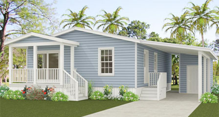 Exterior rendering of Jacobsen Home Floor Plan TNR-2362A