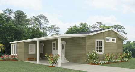 Exterior rendering Jacobsen Homes Floor Plan TNR-4463B