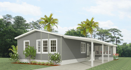 Exterior rendering Jacobsen Homes Floor Plan TNR-4529A