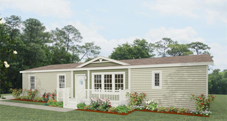 Exterior rendering Jacobsen Homes Floor Plan The T N R • Model TNR-4566B