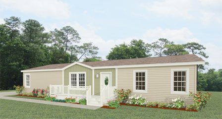 Exterior rendering Jacobsen Homes  Floor Plan TNR-4582W