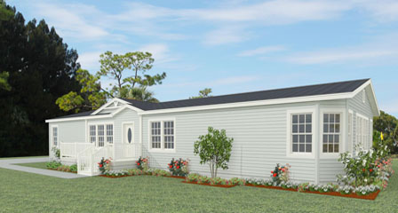 Rendering 3 Bedroom with dormer