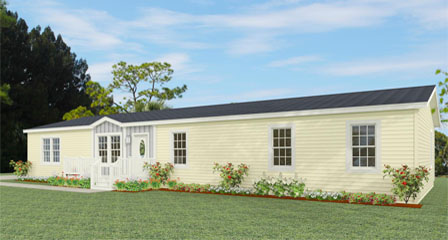 Exterior rendering Jacobsen Homes Floor Plan TNR-4686W