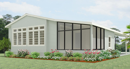 Rendering of a Jacobsen Home Lake Side