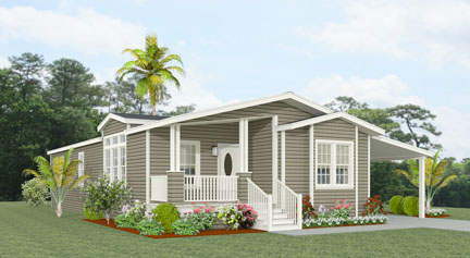 Exterior rendering Jacobsen Homes Floor Plan TNR-6563B