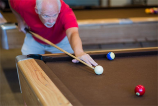 Billiards at Camelot Lakes