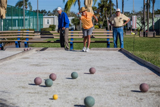 Boccie Ball at Camelot Lakes