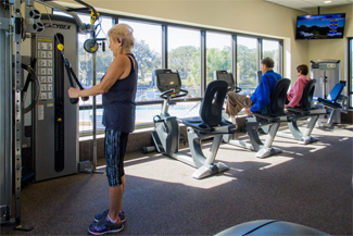 Fitness Room at Camelot Lakes
