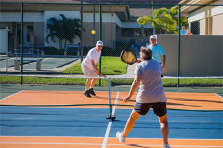 Tennis at Camelot Lakes
