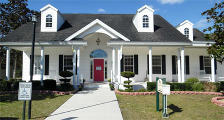 Club House located in Fairfield Village manufactured home community in Ocala Florida