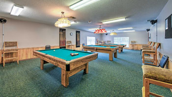 Billards Room at Saddle Oak Club