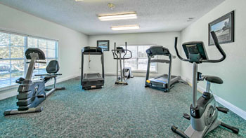 Fitness Room at Saddle Oak Club