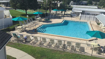 Swimming Pool at Saddle Oak Club