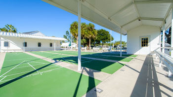 Shuffleboard Courts at Saddle Oak Club