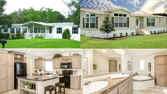 collage of interior and exterior photos of Jacobsen Homes