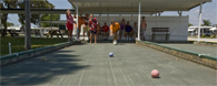 Boccie Ball at Club Wildwood manufactured home community in Hudson Florida