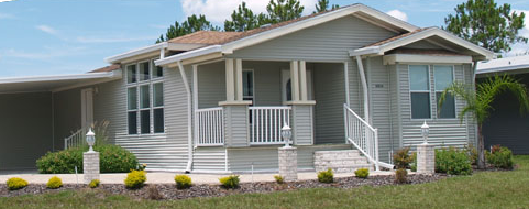 Jacobsen home located in Cypress Lakes manufactured home community in Lakeland Florida