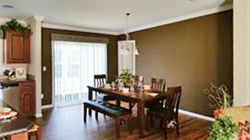 Dining room option at Jacobsen Homes of Lake City