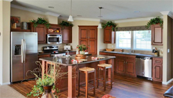 Kitchen option at Jacobsen Homes of Lake City
