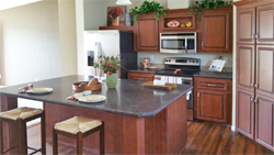 Kitchen design option at Jacobsen Homes of Lake City