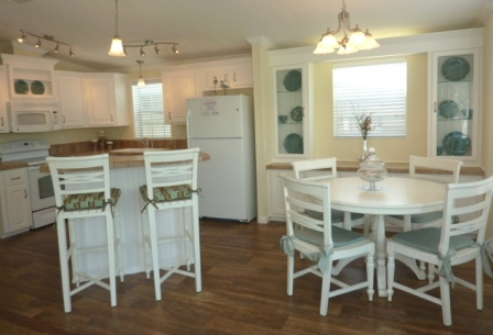 Kitchen and Dining Room option at LeeCorp Homes