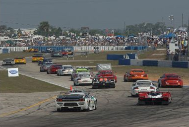 Track race in Sebring, FL