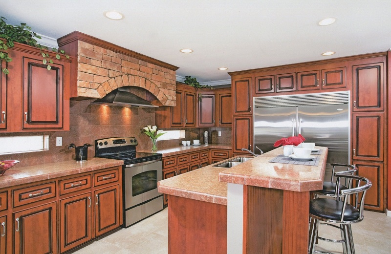 Kitchen of Bay Manufactured Home