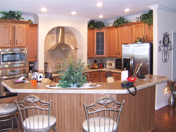 Kitchen design option at Suncrest Homes