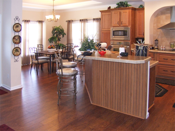 Kitchen option at Suncrest Homes