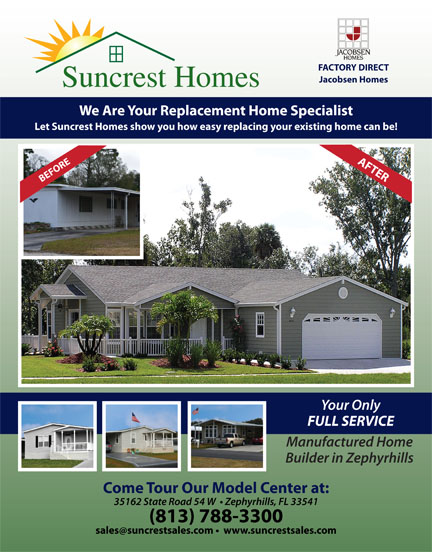 Suncrest Homes Flyer