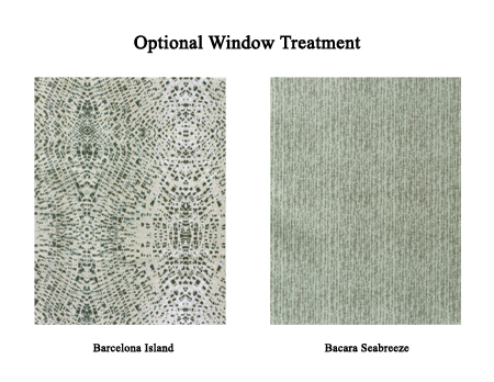Optional Window Treatments from Jacobsen Homes
