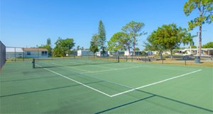 Tennis Courts at Serendipity
