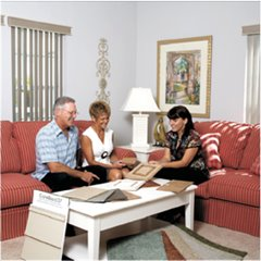 Sit with a Design Consultant in our Home Design Center